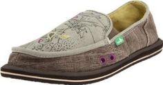 Amazon.com: Sanuk Women\'s Scribble Sidewalk Surfer: Shoes