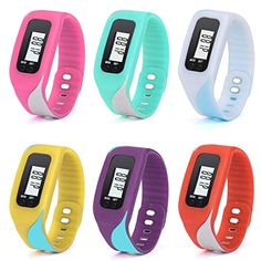 4660cd7f8c7 Perman Durable Digital LCD Pedometer Run Step Walking Distance Calorie  Counter Watch Bracelet