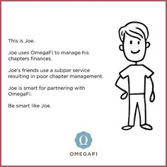 Listen to Joe. He knows what's up. #OmegaFi #runraiseconnect #poweredbyomegafi #fraternity #sorority #greeklife