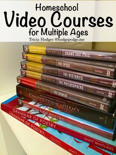 Invite master teachers into your homeschool and enjoy fantastic learning with homeschool video courses for multiple ages.