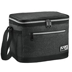 Insulated Lunch Bag for Women Men, Leakproof Thermal Reusable Lunch Box for Adult & Kids by Tirrinia, Lunch Cooler Tote - Compare and Shop The Best Stuff Insulated Lunch Containers, Insulated Bags, Insulated Lunch Box, Packing A Cooler, Lunch Cooler, Thermal Lunch Box, Meal Prep Bag, Adult Lunch Box, Large Lunch Bag