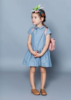 Milk magazine kids fashion outfits trend and style lighter chambrays