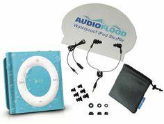 Waterproof iPod Shuffle by AudioFlood