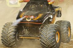 Monster jam...This truck was the best last night at McKenzie Arena