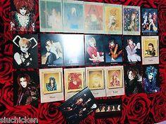 Malice Mizer - 22 Postcard set w/ holder (Fanclub only) - Japan Visual Kei Gackt