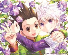 Gon and Killua. I ship it.