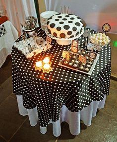 mesa bolo vista de cima