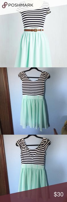 Modcloth That's Bayside the Point Dress Cute spring dress only worn once! ModCloth Dresses