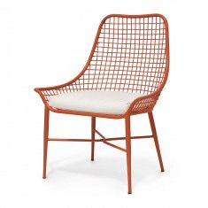 Palecek Hermosa Outdoor Chair - Orange