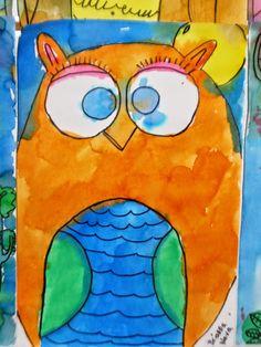 """Inspired by """"Little Owl's Night"""" Art Julz: 1st"""