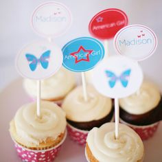 AMERICAN GIRL INSPIRED Party Printables  Custom by SaucyPants, $12.50