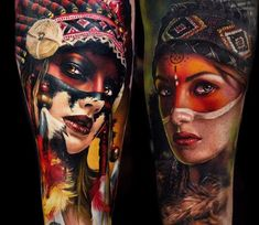 Aboriginal Tattoo Designs: Ink Connecting Nature And Man Native Indian Tattoos, Indian Girl Tattoos, Native American Tattoos, Native American Girls, Great Tattoos, Beautiful Tattoos, Body Art Tattoos, Sleeve Tattoos, Tattoos For Guys