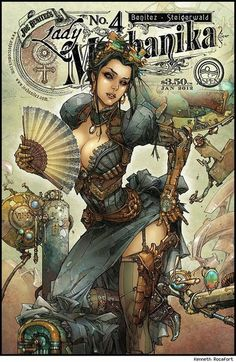 art that inspires / Lady Mechanika by Kenneth Rocafort