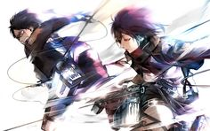 Attack on Titan >>> Eren and Mikasa