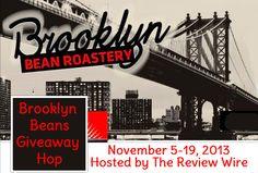 Brooklyn Bean Roastery Giveaway Hop: Variety Pack Ends 11.19.13