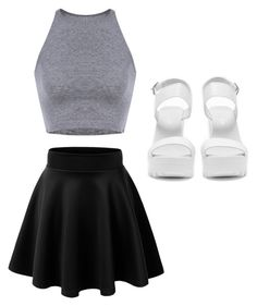 """""""Untitled #497"""" by loves5sos ❤ liked on Polyvore featuring moda ve Nly Shoes"""