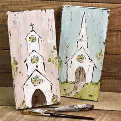 40+ Farmhouse Canvas Art Wall Decor Reviews & Tips - decoryourhomes.com Wood Pallet Art, Scrap Wood Art, Cross Paintings, Religious Paintings, Painting For Kids, Painting On Wood, Texture Painting, Christmas Art, Christmas Canvas