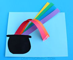 3D Over the Rainbow St. Patrick's Day Craft | Crafty Morning