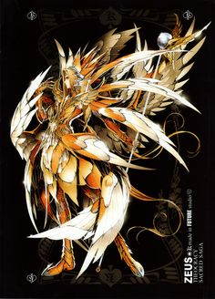 Males Saint Seiya Masami Kurumada Future Studio Saint Seiya Future Studio Zeus King of the Gods
