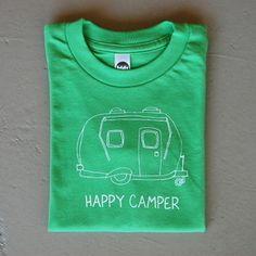 Image of Happy Camper Children's Tee