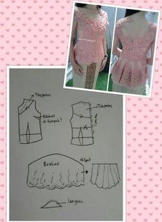 Modern Lace Kebayas