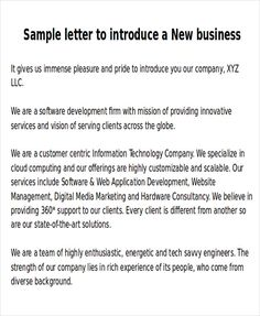 Business letter format with subject line httpcalendarprintablehub sample new business letters 6 examples in word pdf sample templates spiritdancerdesigns Gallery