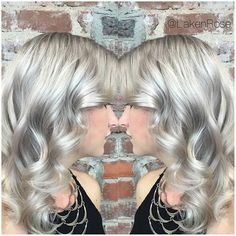 ✨FORMULATION POST✨  Violet Metallic  Natural Level 8, Virgin Hair  Step 1) Pre-lighten to level 10 with No Ammonia Lightener  Step 2) Neutralize canvas with VP Rapid Toner  Step 3) Create shadow by melting 8VM+10Volume at the root into 9VM+10Volume on the mid-lengths and ends  Optional Step 4) Pastel Violet overlay with Creative Violet and White.
