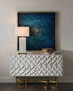 JohnRichard Collection Barrington Console is part of White credenza - Shop Barrington Console from JohnRichard Collection at Horchow, where you'll find new lower shipping on hundreds of home furnishings and gifts Home Living, Living Room Decor, White Credenza, Entryway Decor, Wall Decor, Entryway Lighting, Home Furniture, Furniture Design, Luxury Furniture