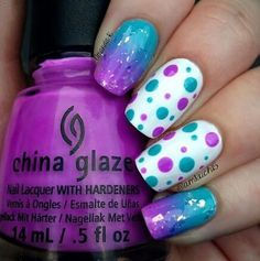 purple nails | See more nail designs at www.nailsss.com/... Nail Design, Nail Art, Nail Salon, Irvine, Newport Beach