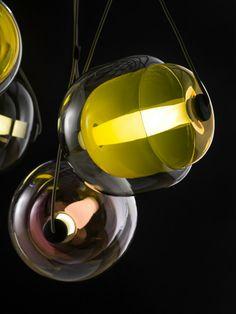 Handmade pendant #lamp CAPSULA by BROKIS | #design Lucie Koldova