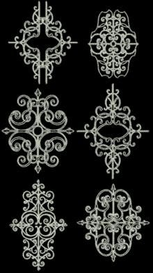 Advanced Embroidery Designs. Embellishments Embroidery Designs.