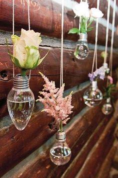 Single Stem Flower Wedding Displays (BridesMagazine.co.uk)