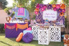 Princess Jasmine Inspired Arabian Nights Party on Kara's Party Ideas | KarasPartyIdeas.com (10)