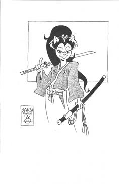 Tomoe - Usagi Yojimbo