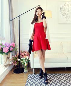 Bustier dress - 86021  USD $9.50