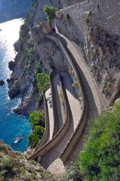 Via Krupp, Capri. my most awaited destination in Italy!