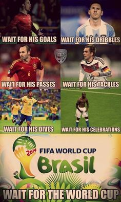 Waiting for the next World Cup