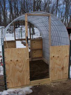 greenhouse in winter ..#greenhouse #greenhousegardening #garden #winter #plant