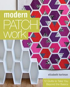 Elizabeth Hartman of Oh Fransson! is so (sew) inspiring. Modern and fresh quilts, great use of colour, innovative piecing. I'm starting to think there is nothing she's not capable of...she's even quilted a map of the Tokyo Subway system.