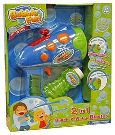 Bubble Fun 2 in 1 Water   Bubble Blaster   Squirter  Amazon.co.uk  Toys    Games f1351a025112