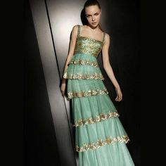 Incredible robe by Zuhair Murad, a gifted Lebanese designer with shops in Beirut and Paris.
