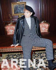 Yugyeom - Got7 for 'Arena Homme Plus' November 2015 issue