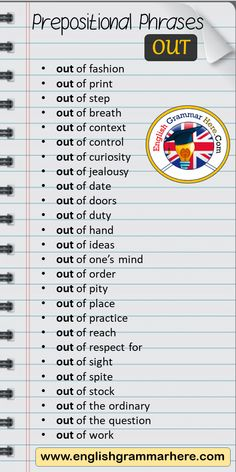 Teaching English Grammar, English Writing Skills, English Vocabulary Words, Learn English Words, English Phrases, English Language Learning, English Lessons, English Prepositions, Teaching Writing