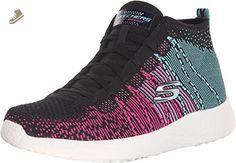 Skechers 51539, Sneakers Basses Homme - Gris - Noir/Charbon, 31 EU