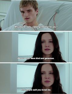 Peeta & Katniss | Mockingjay Part 2