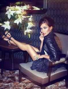 Jesús Alonso Lenses Glamorous Style for Madame Figaro