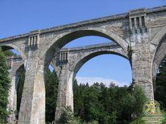 Viaducts in Poland - Wiadukty w Stańczykach Ziemia Gołdapska Mazury Masuria Travel