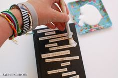 How to Decorate a Journal - www.jaderbomb.com
