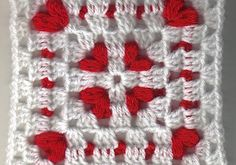 Cornered Hearts Square by Elizabeth Ham