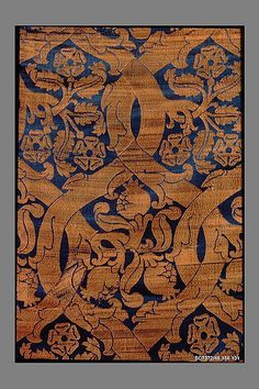 Woven Textile Piece, Italian, Silk, 16th Century
